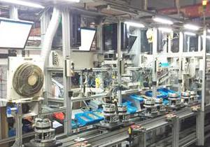爪极应用-汽车发电机总装生产